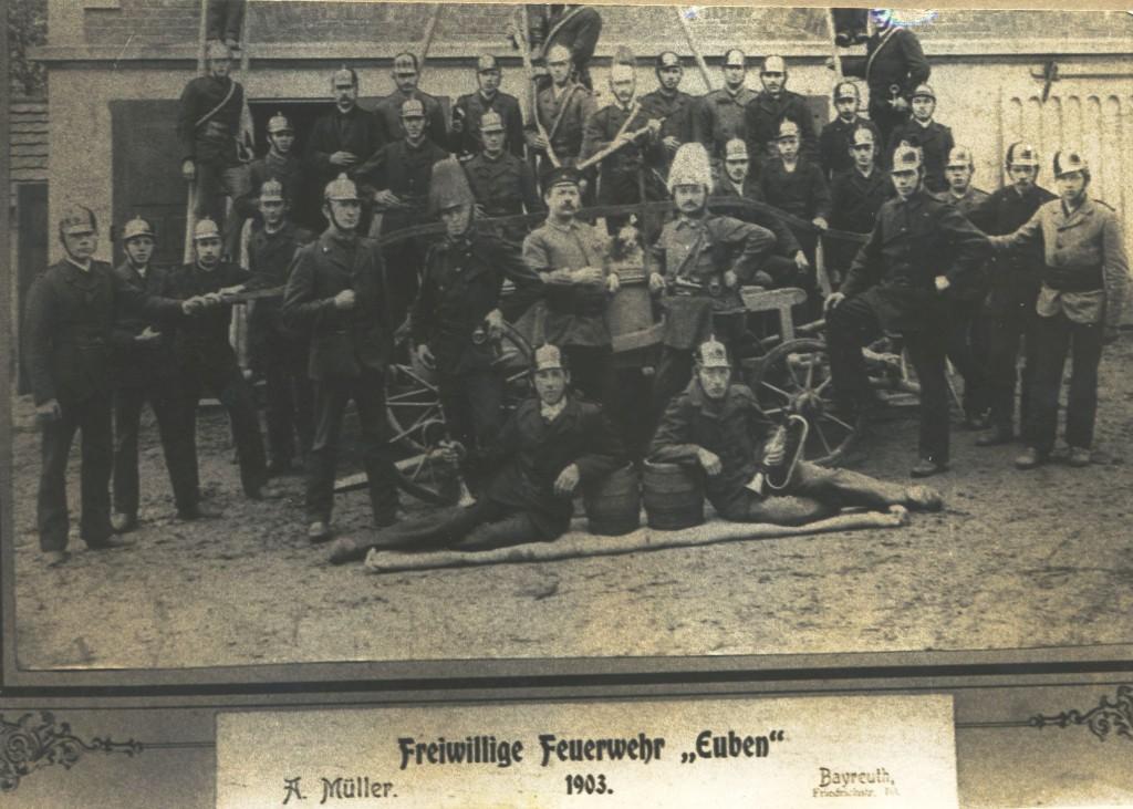 Freiwillige Feuerwehr Euben 1903